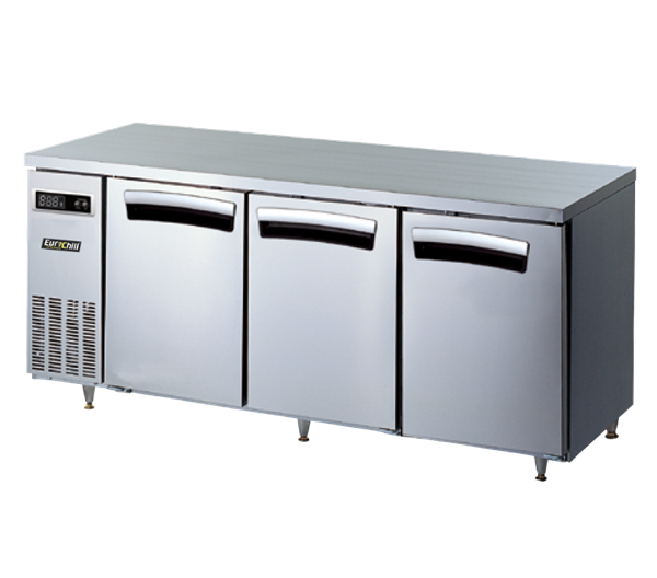 Kitchen Bar Counter Singapore: 3-DOOR UNDERCOUNTER CHILLERS & FREEZERS BY EURO-CHILL
